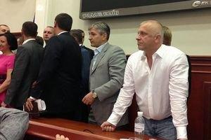 В Киевсовете угрожали Кужель, а Гриневич сильно ударилась головой