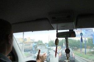 Київ стояв у заторі завдовжки 10 км