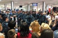 Воронченко нагородив звільнених моряків орденами й черговими військовими званнями