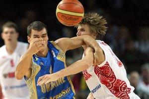 Евробаскет-2011: Украина проиграла стартовый матч России