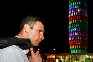 Саакашвили покатал Кличко по ночному Батуми