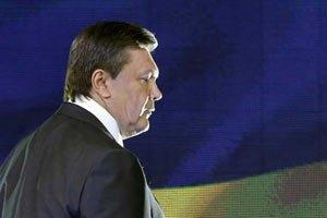 The Wall Street Journal: Захід запізнився з критикою Януковича