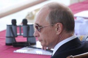Моржи и дельфины устроили шоу для Путина