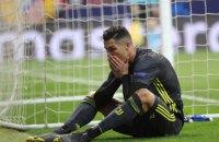 Роналду впервые за последние 12 лет не вошел в тройку бомбардиров чемпионата