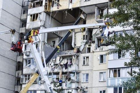 Все семьи, пострадавшие в результате взрыва многоэтажки в Киеве, получили новые квартиры, - Зеленский