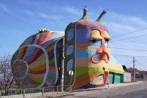 Дом в Болгарии признан самым странным