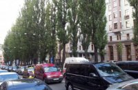 У центрі Києва до 18 липня заборонили рух транспорту через зйомки відеоролика