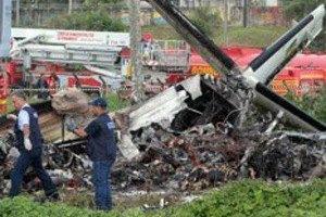 Установлены личности погибших при крушении самолета в Крыму