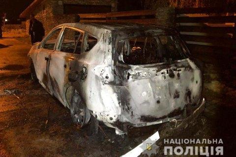 Ночью сожгли автомобиль секретаря Ровенского горсовета
