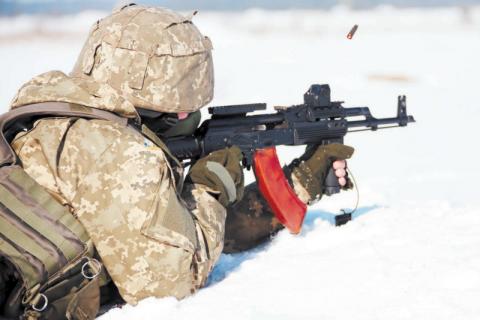 Доба в зоні бойових дій на Донбасі пройшла без втрат