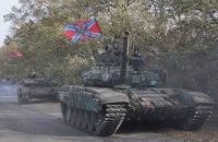 Боевики продолжают перемещать военную технику, используя перемирие