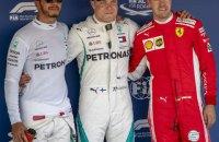"""Формула-1: гонщик """"Мерседес"""" выиграл квалификацию Гран-При России"""