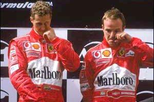 """Баррикелло: """"Ferrari угрозами заставила меня пропустить Шумахера"""""""