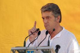 Ющенко: язык – это клей нации
