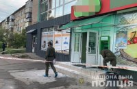 Київські поліцейські затримали двох крадіїв, які підривали банкомати та платіжні термінали