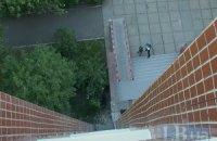 У Києві робітник, який встановлював вікна, випав із сьомого поверху поліклініки
