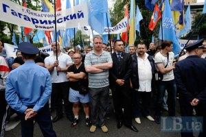 Депутаты трех западных советов провели под Радой свои сессии