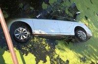 На Черкащині автомобіль впав із дамби у воду, загинули дві людини