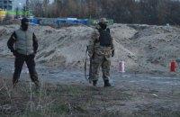 В ходе столкновений на киевской стройке пострадал милиционер