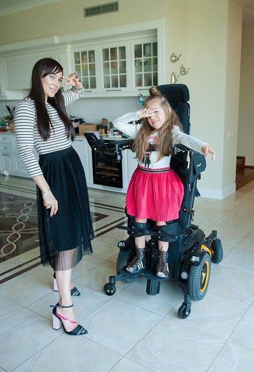 Наталія Татарінова з донькою Поліною