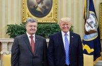 Трамп заверил Порошенко в поддержке Украины со стороны США