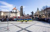 Во Львове установили рекорд по наиболее массовому исполнению песен на слова Шевченко