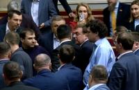 В Раде произошла потасовка из-за отказа создать следственную комиссию по событиям 2 мая в Одессе