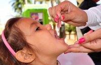 В Украине стартует первый раунд вакцинации против полиомиелита