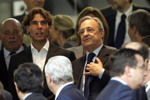"""Президент """"Реала"""" хоче організувати на """"Сантьяго Бернабеу"""" рекордний за відвідуваністю тенісний матч"""