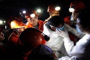 В Китае спасли 19 шахтеров после недельного пребывания в затопленной шахте