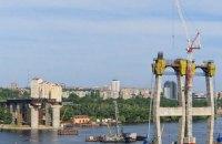 Кабмин объявил о возобновлении строительства моста через Днепр в Запорожье