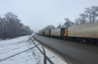 Россия второй день не пропускает украинские фуры на пункте пропуска в Харьковской области