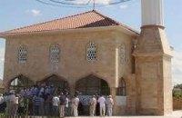 Чечня подарила Крыму мечеть