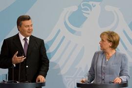 Янукович представил в Берлине новую формулу