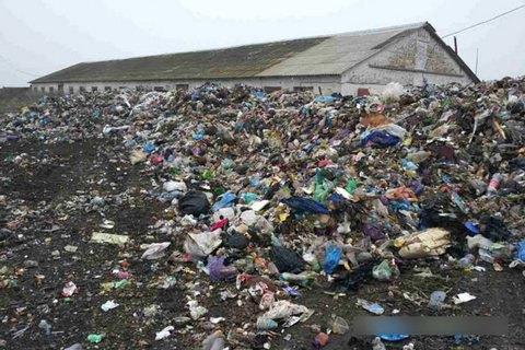 У Полтавській області намагалися скинути львівське сміття