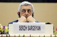 У Вірменії заарештували начальника охорони екс-президента Саргсяна