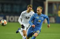 Украина минимально обыграла Эстонию в товарищеском матче (обновлено)