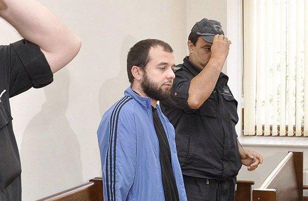 Чатаєв на суді в Хасково, Болгарія, 2011 рік