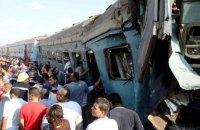 15 людей загинули внаслідок зіткнення поїздів в Єгипті