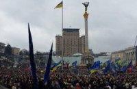 Милиция насчитала на Евромайдане восемь тысяч человек