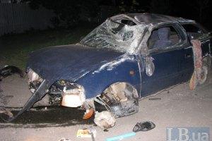П'яні кияни потрапили в аварію у чужій машині