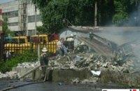 МЧС: магазин пиротехники взорвался из-за нарушения правил безопасности