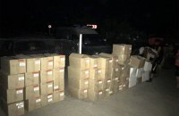 Женщина пыталась перенести на оккупированную территорию 48 ящиков товаров пищевой промышленности