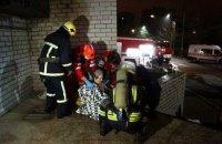 Попередньою причиною пожежі в інфекційній лікарні Запоріжжя є вибух медобладнання