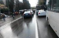 Жители Сочи перекрыли участок федеральной трассы
