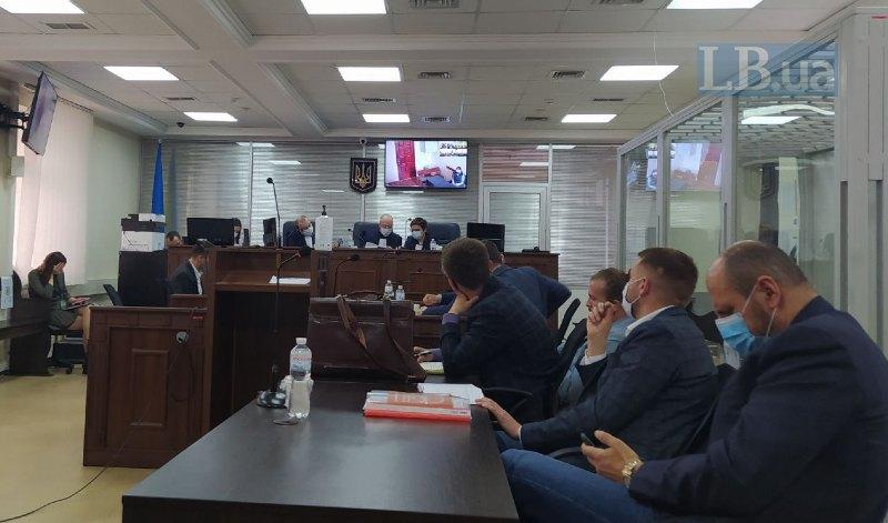 Фото з зали суду