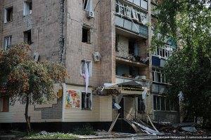 Поврежденный взрывом харьковский дом восстановят до конца года