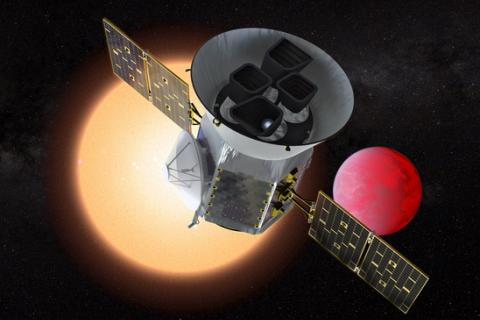Новый спутник NASA задва дня нашел две схожие наЗемлю планеты