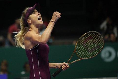 Свитолина одержала вторую победу на Итоговом турнире WTA и возглавила группу