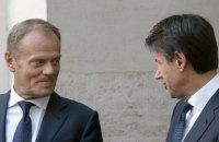 Италия продолжает ссориться с ЕС: Брюссель не хочет нового финансового кризиса по греческому сценарию